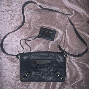 NEW condition Balenciaga dark grey bag